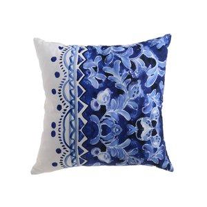 Zaraza Perna decorativa mare, Bumbac, Albastru
