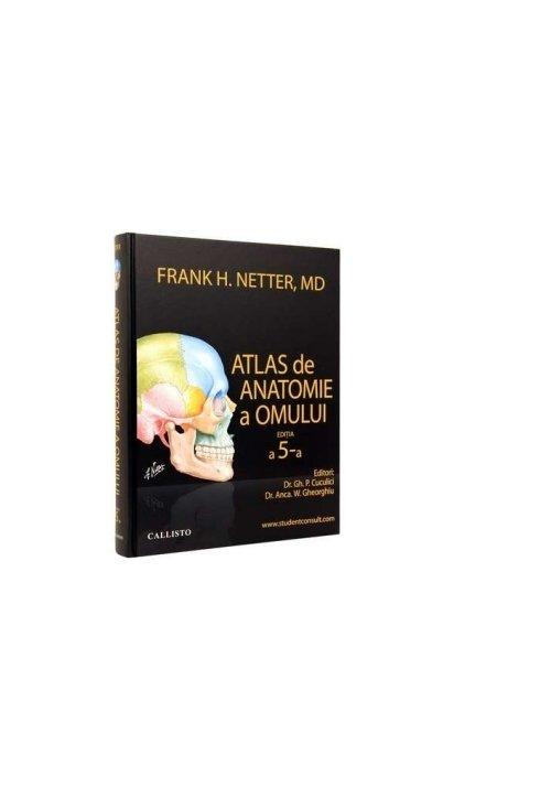 Atlas de anatomie a omului Netter (editia a 5-a) imagine librex.ro 2021