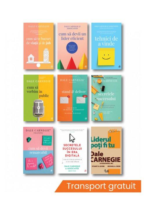 Pachet complet Dale Carnegie - Set 9 carti