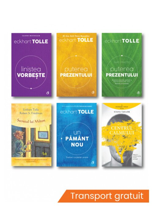 Pachet complet Eckhart Tolle - Set 6 volume