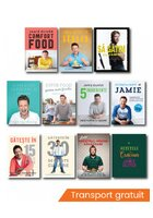 Pachet Jamie Oliver. Set 11 carti