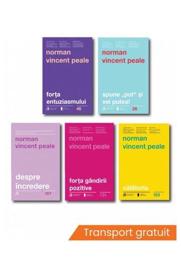 Pachet complet Norman Vincent Peale - Set 5 carti
