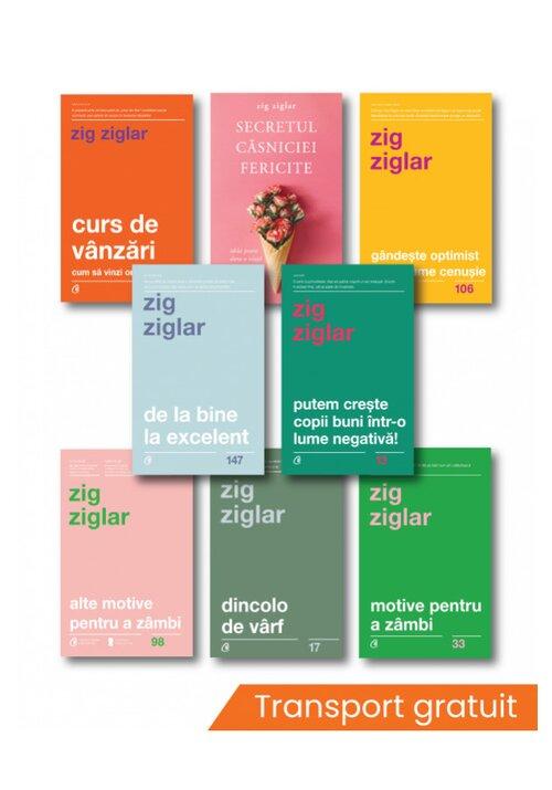 Pachet complet Zig Ziglar - Set 8 carti imagine librex.ro 2021