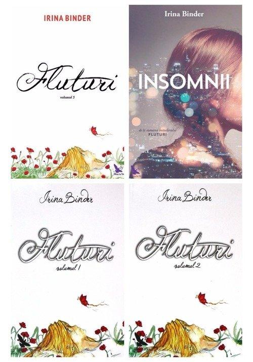 Pachet de autor Irina Binder - 4 volume