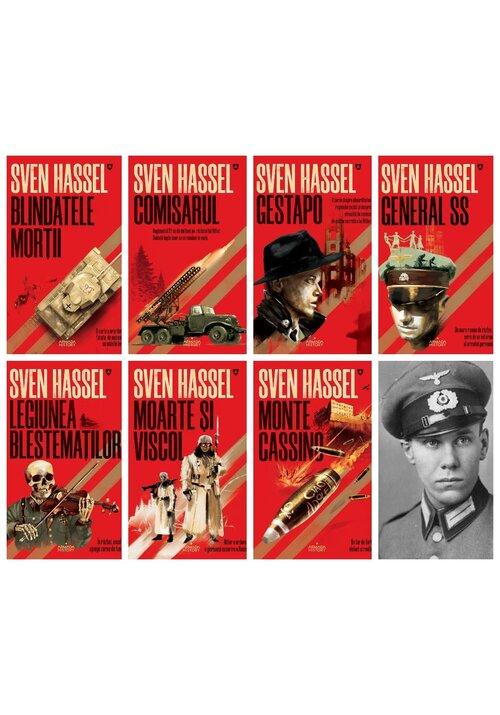 Pachet Sven Hassel - Set 7 Carti imagine librex.ro 2021