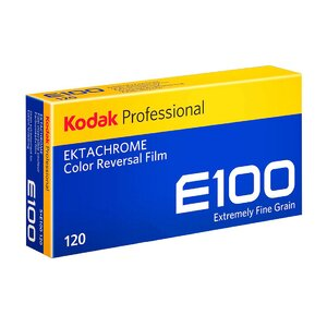 Kodak Ektachrome 100 120 film foto color profesional