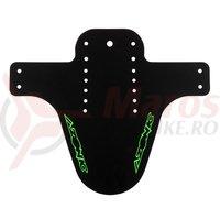 Aparatoare noroi Splatter cu logo Azonic negru/verde