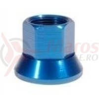 Axle Nuts 14mm albastru single