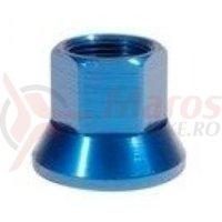 Axle Nuts 3/8 albastru single