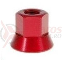 Axle Nuts 3/8 rosu single