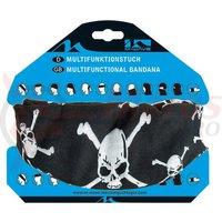 Bandana M-Wave Skull cap schelet neagra