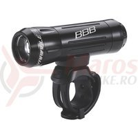 BBB Far fata BLS-62 170 lumeni negru 3xAAA