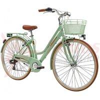 Bicicleta Adriatica City Retro Donna 28 verde 2018
