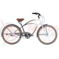 Bicicleta Capriolo Ibiza white-silver-orange