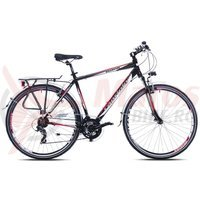 Bicicleta Capriolo Touring Roadster black-red
