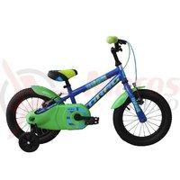 Bicicleta copii Drag Rush 14 albastru/verde