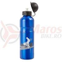 Bidon Aluminiu M-WAVE ABO 750 - Albastru