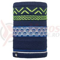 Buff Neckwarmer AD Knitted&Polar Switch Dark Navy