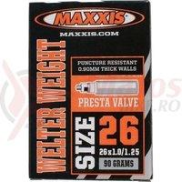 Camera 26X1.0/1.25 FV Maxxis Welter weight 0.9mm Presta