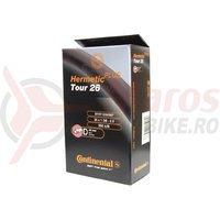 Camera bicicleta Continental Tour 26 Hermetic Plus valva Dunlop