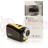 Camera HD Action camera 720p 5 MP carcasa impermeabila