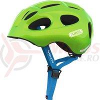Casca bicicleta Abus Youn-I sparkling green