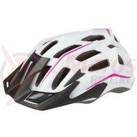 Casca ciclism Mighty Hawk alb/roz 58-62 cm