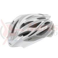 Casca Road Mighty argintiu/alb/carbon L 58-62 cm