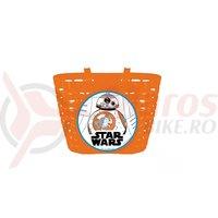 Cos Bicicleta Seven Star-Wars portocaliu