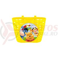 Cos bicicleta Seven-Winnie the Pooh galben