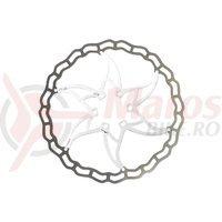 Disc frana Ashima ARO-09 180mm Super Light alb