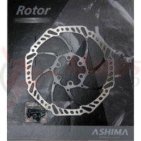 Disc frana Ashima ARO-15 180mm negru