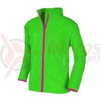 Jacheta ploaie Mac in a Sac Mias Classic II verde neon