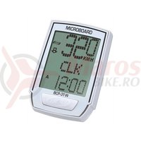 Kilometraj BBB MicroBoard wireless 8 functii alb