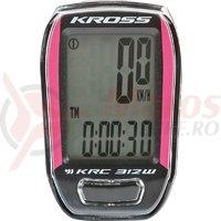 Kilometraj Kross KRC 312W 12-functii wireless black-pink