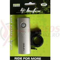Lampa fata BikeForce Polaris 5 led White 2 functii