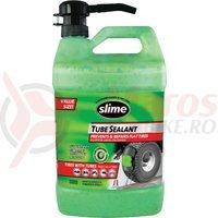 Lichid anti-pană SLIME pentru cameră, 3,8 l, cu pompă / 30 roţi