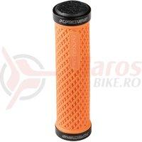 Mansoane lock-on Kross Stable 134 mm orange