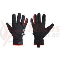 Manusi Cube Natural Fit Gloves X-Shell Long Finger blackline