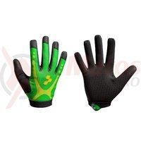 Manusi Cube Race Touch LF verde/lime/negru