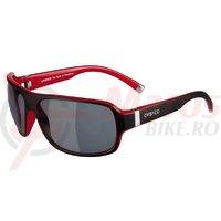 Ochelari soare Casco SX61 negru/rosu