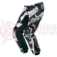 Pantaloni O'Neal Element Shocker negru/alb