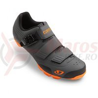 Pantofi MTB Giro Privateer R gri/orange
