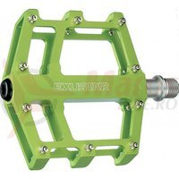 Pedale Exustar MTB/BMX/Enduro CNC verzi