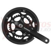 Pedalier Shimano Claris FC-RS200 50x34T 175mm pentru 8v negru