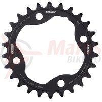 Placa pedalier BBB MTBGear comp. 2x10 Sram XX 26T/80 mm C