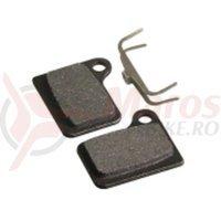 Placute frana disc semi-organice Fibrax ASH992  pt Shimano Deore Hydraulic  BR-M555/556  Nexave C900/901