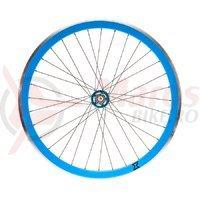 Roata fata single speed/fixie 700x32H-40 mm SXT albastra