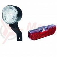 Set lumini Trelock pentru dinam LS593 Bike/LS613 Duo Flat