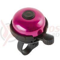 Sonerie aluminiu M-Wave Rotary Action 53 mm roz